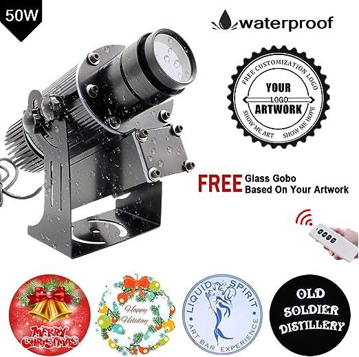 FDYD 50W LED de Encargo del Logotipo de Imagen del GOBO la luz del ...