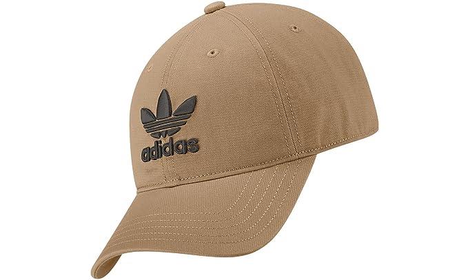 98f4ef60e Adidas Trefoil Cap LINKHA/Black Marrón Unica: Amazon.ca: Clothing ...