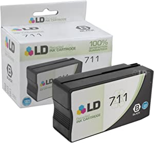 LD Remanufactured Ink Cartridge Replacement for HP 711 CZ133A High Yield (Black)