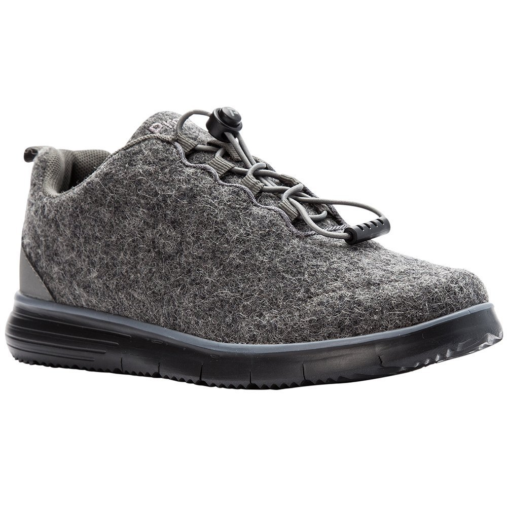 Propet Women's TravelFit Prestige Walking Shoe B078YMRW5X 7 MEDIUM Medium US|Grey Flannel