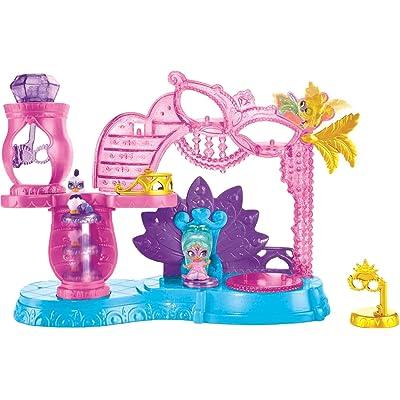 Fisher-Price Nickelodeon Shimmer & Shine, Teenie Genies, Princess Samira's Masquerade Ball: Toys & Games
