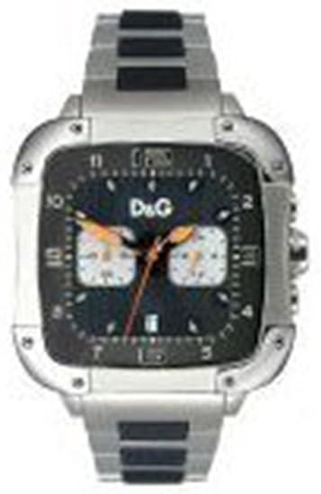 Dolce & Gabbana nografo - Reloj de caballero de cuarzo, correa de acero inoxidable color