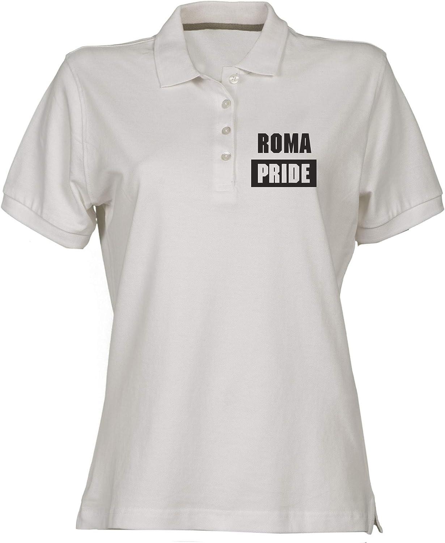 Polo para Mujer Blanco TSTEM0080 Roma Pride: Amazon.es: Ropa y ...