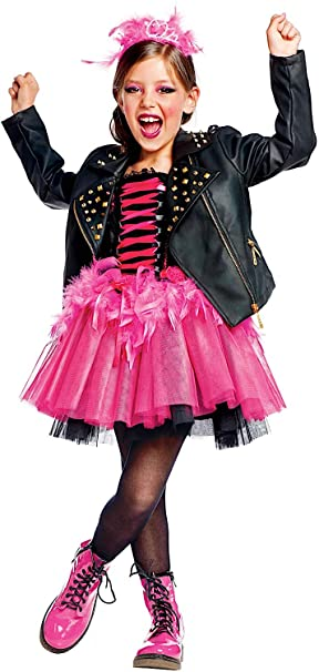 VENEZIANO Disfraz SEORA BEB Punky Vestido Fiesta de Carnaval Fancy ...