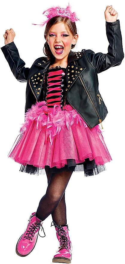best website 469d1 ad401 Costume di Carnevale da Lady Punk Vestito per Ragazza ...