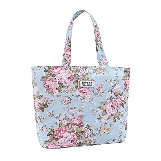 63d73195a189 Lvtree Tote Shoulder Bag Handbag, Foldable Wallets Purse Bag for Outdoors  Gym Hiking Picnic Travel Beach
