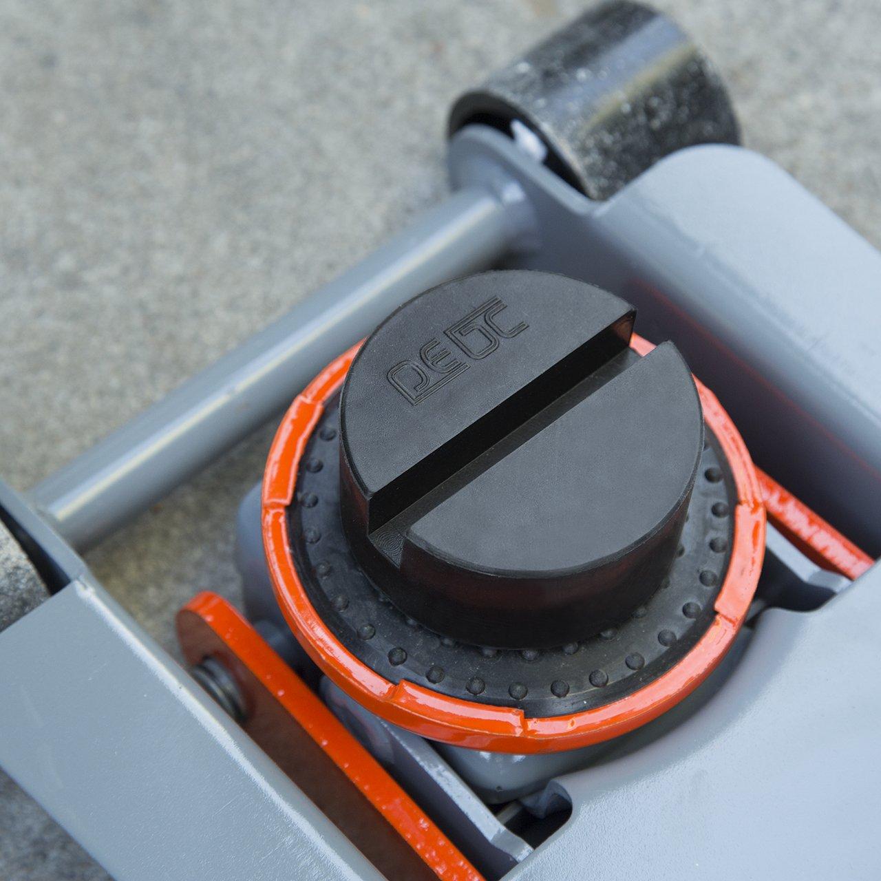 DEDC Jack Pad Universal Slotted Frame Rubber Jack Pad Medium Size Frame Rail Protector