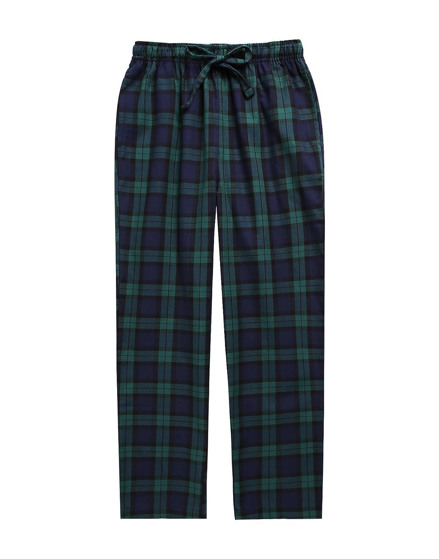 TINFL 6-14 Years Big Boys Plaid Check Soft Lightweight 100/% Cotton Lounge Pants