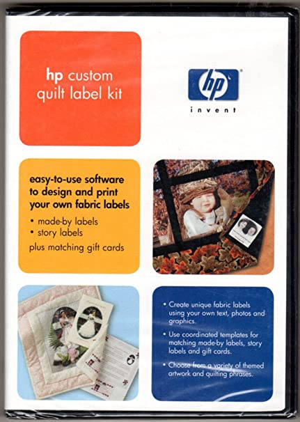 Amazon HP Custom Quilt Label Kit