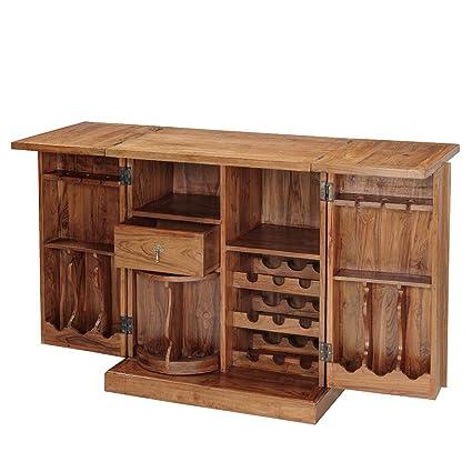Inhouz INHZ0852(T) Bar Cabinet (Brown)