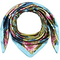 Corciova Large Square Satin Silk Like Lightweight Scarfs Hair Sleeping Wraps for Women