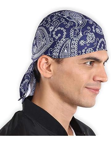 9d1b195f2f9 Sweat Wicking Cooling Helmet Liner - Do Rag Skull Cap Beanie for Men    Women.