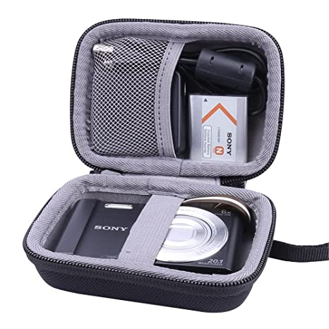 Aenllosi Hard Travel Case for Sony DSC-W830/W800/W810 Digital Camera