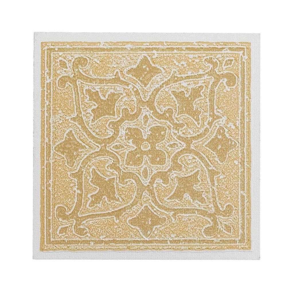 Amazon.com: Faux Accent Designs Vinyl Wall Tile, Terracotta, 4 ...