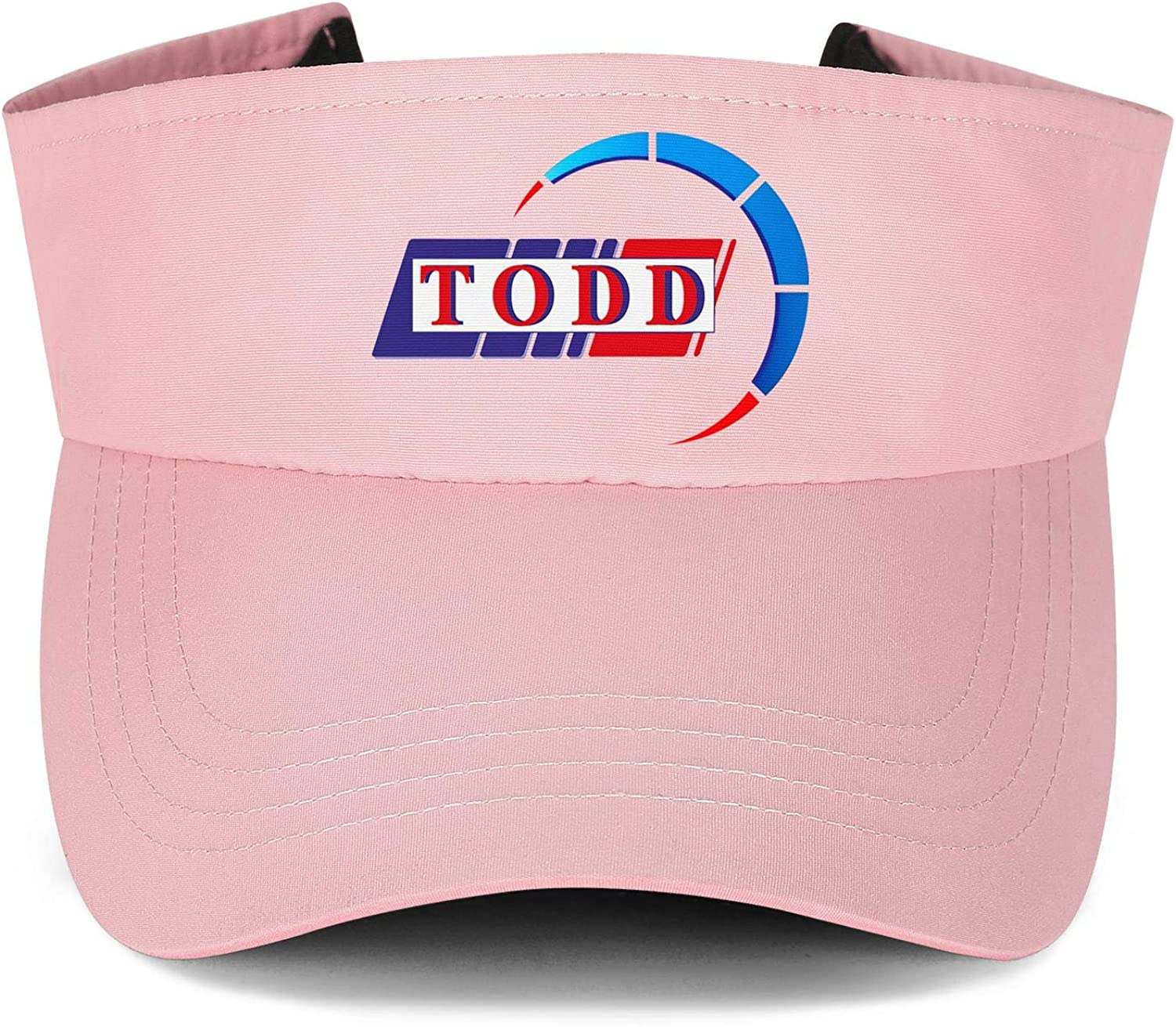 Todd Chrono Logo Mens Womens Hats Sun Visor Cap Fitted Hat Classic Caps