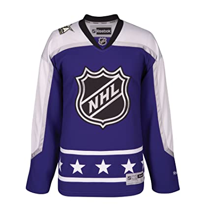 3dbb81ce3df Image Unavailable. Image not available for. Color: 2017 NHL All-Star  Central Division Premier Replica PURPLE ...