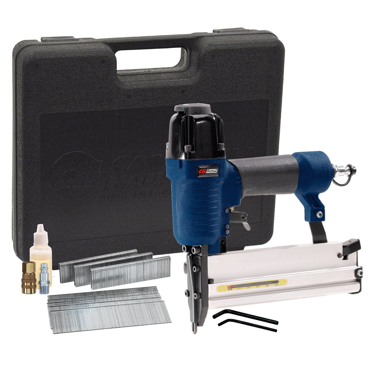 Clavadora Neumatica : Brad Nailer and Air Stapler, 2-in-1,..