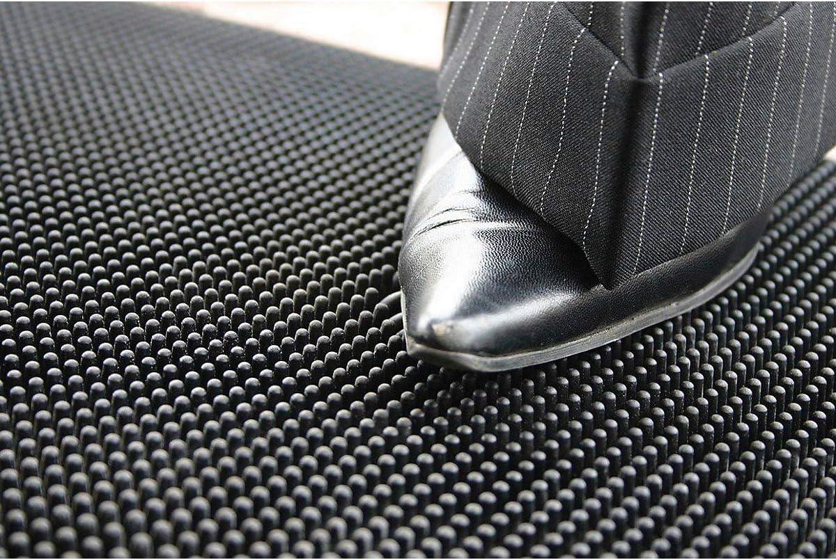 Gummi-Allwettermatte Bodenmatte Bodenschutzmatte Fu/ßbodenmatte Fu/ßbodenmatten Gummimatte Schutzmatte schwarz LxB 1000 x 800 mm