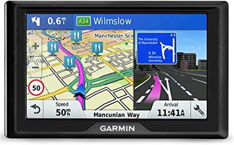 Garmin Drive 51 Western EU LMT-S - Navegador GPS con mapas de por vida y tráfico vía móvil (pantalla de 5