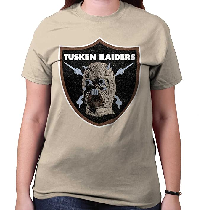 Tusken Raiders Funny Football Oakland Raiders Funny Star Wars T Shirt