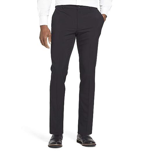 aabae074be6dc Van Heusen Men's Slim Fit Flex Flat Front Pant at Amazon Men's ...