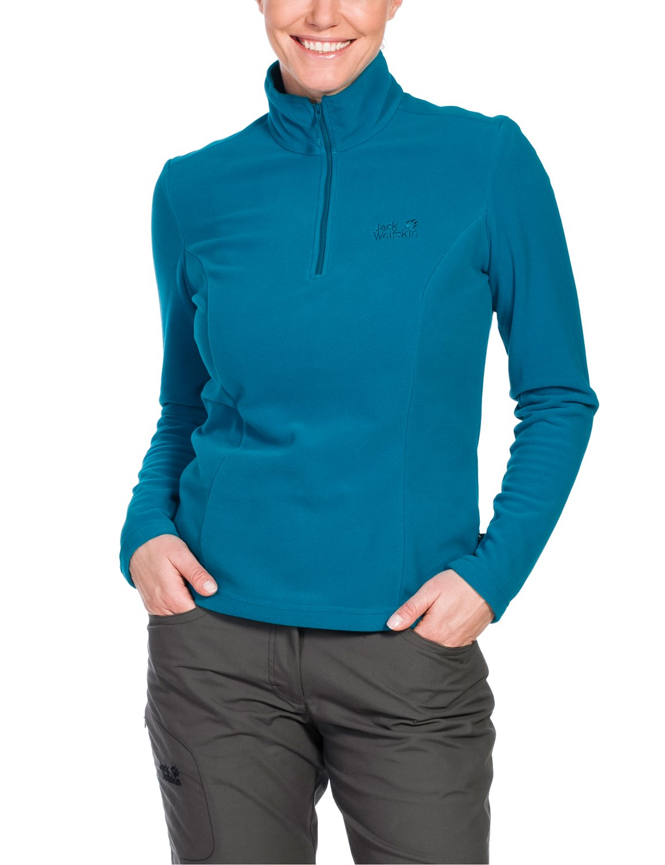 Jack Wolfskin Women's Gecko Shirt, Small, Dark Turquoise