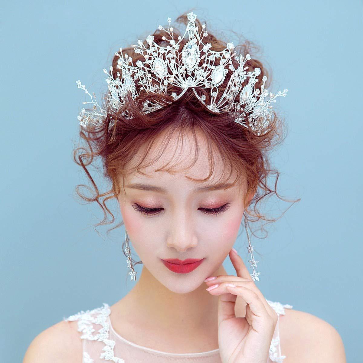 Girls Crown, Beautiful headdress/Bridal Crown Accessories Crown 2 Wedding Accessories by Zehaer (Image #4)