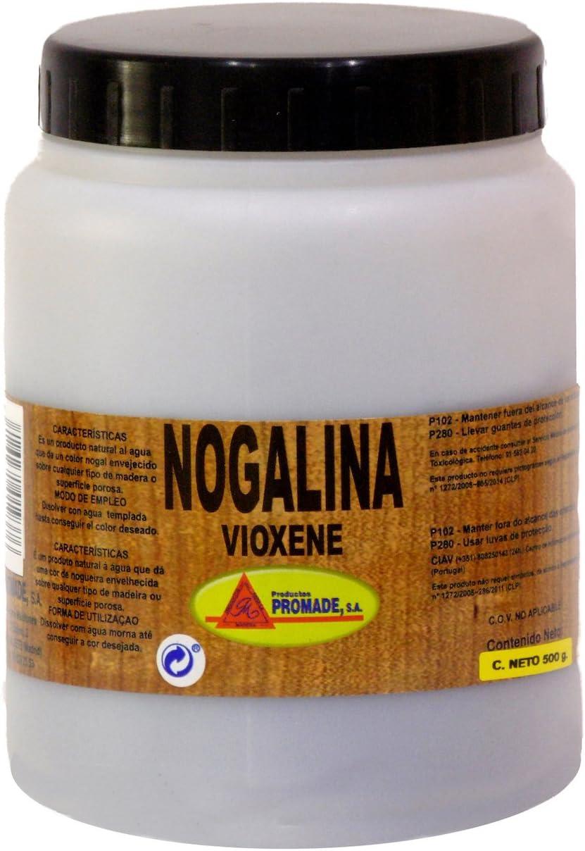 Promade - Nogalina (Extracto de Nogal) en Polvo para Teñir Madera y Otras Superficies Porosas - 500 gr.