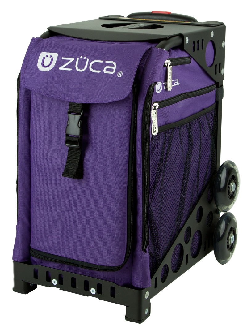 ZUCA Bag Rebel Insert & Black Frame w/Non-Flashing Wheels