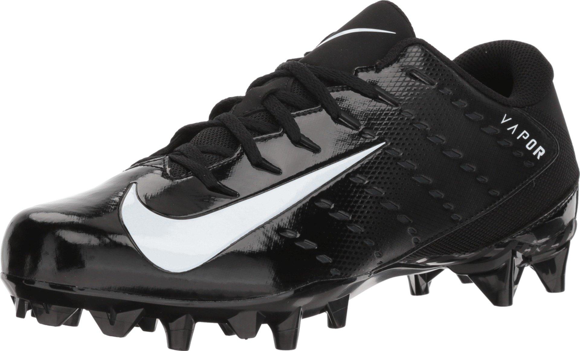 Nike Men's Vapor Untouchable Varsity 3 TD Football Cleats (8.5, Black/White/Anthracite) by Nike