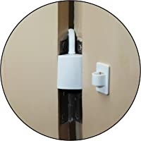 Safe-O-Kid Effective Finger Guard for Hinged Doors (Pack of 4, White)