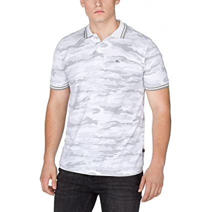 Alpha Industries Hombres Ropa superior / Camiseta polo Twin Stripe ...