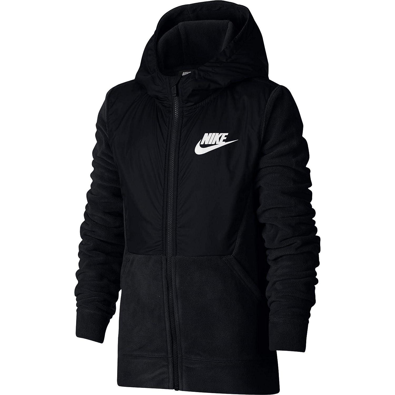 NIKE Boy's Sportswear Polar Fleece Full Zip Hoodie