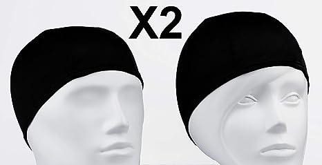 c717a9ad33a8 Emerpack 2X Cuffie da Nuoto in Tessuto/per Adulto, Uomo e Donna, Unisex