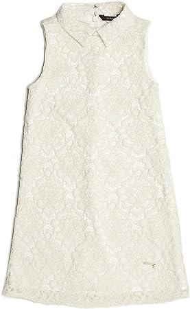 Guess Robe Fille J81K06 Blanc