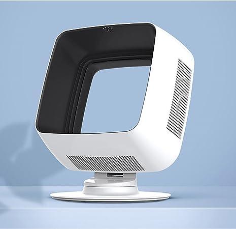 Windamp Ventilador cuadrado sin cuchilla para habitación pequeña: Amazon.es: Hogar