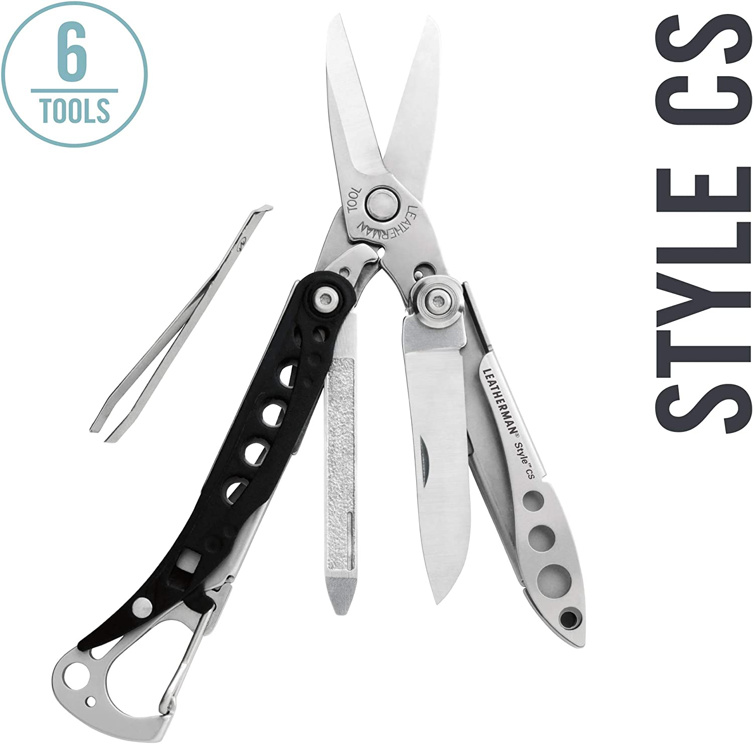 5. Leatherman Style CS 6-in-1 Keychain Multitool