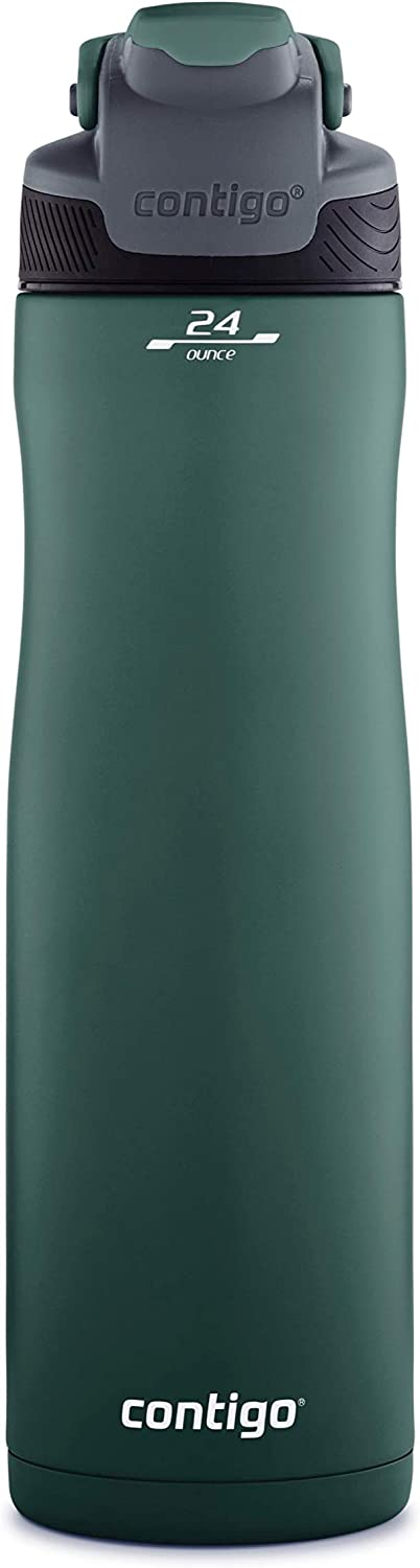Contigo AUTOSEAL Chill Stainless Steel Water Bottle, Chard