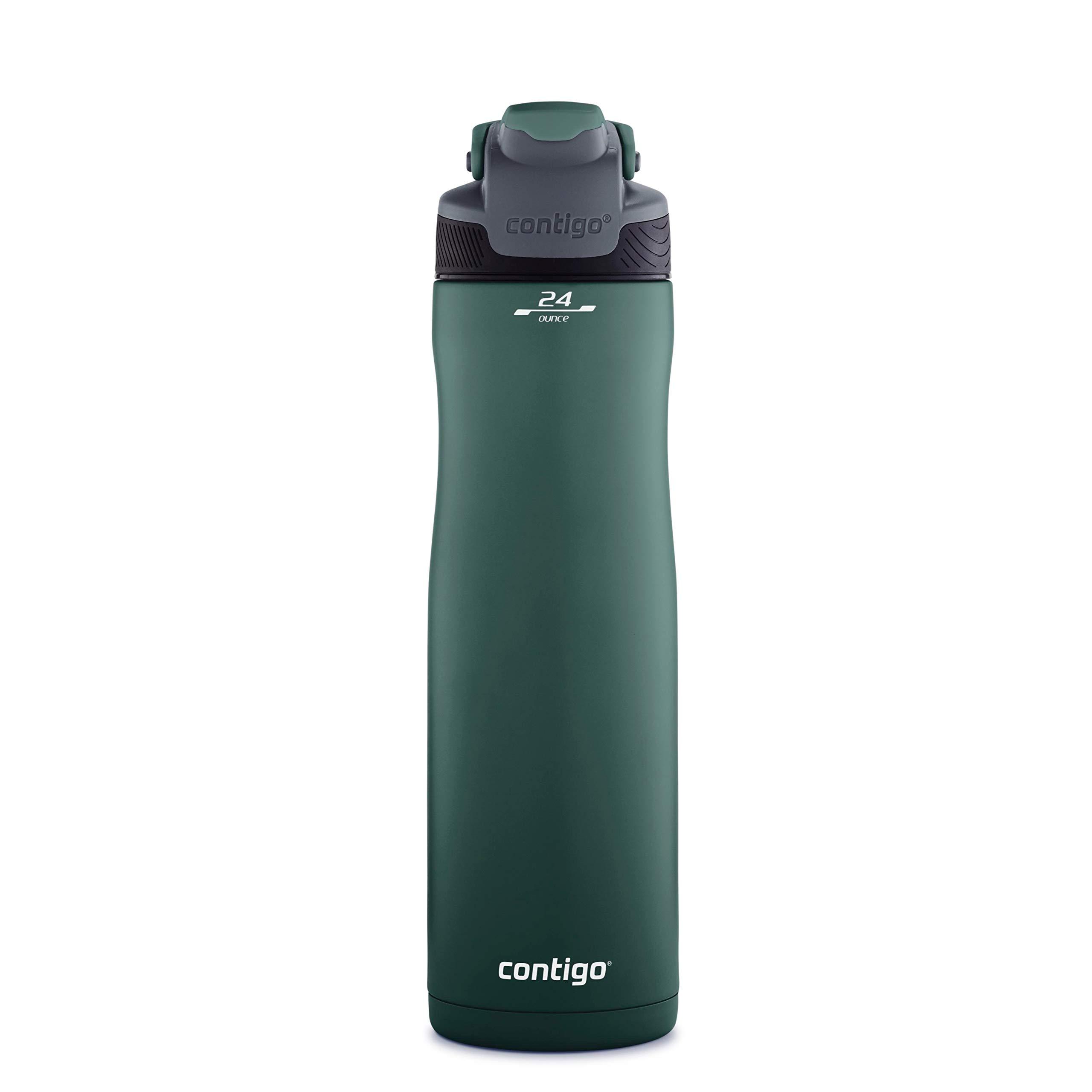 Contigo 2063296 Autoseal Chill Water Bottle, 24 oz, Chard by Contigo