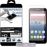 Film Protecteur d'écran en VERRE TREMPE pour Alcatel Onetouch POP 3 (5 pouces) Ultra Transparent Ultra Résistant INRAYABLE INVISIBLE