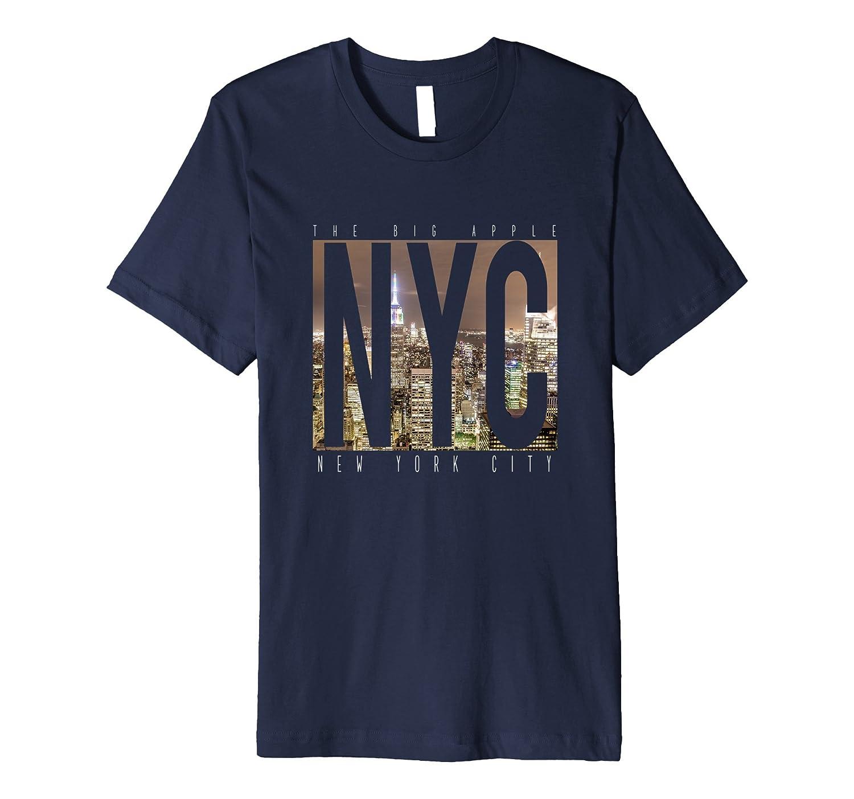 Premium NYC New York City Skyline T-Shirt-CD