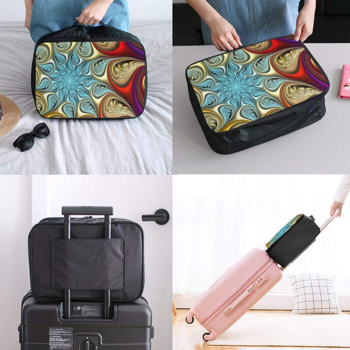Shiba Inu And Sushi Travel Duffle Bag In Trolley Handle Lightweight Weekender Bag Nylon Luggage Duffel Bag Sports Luggage Bag Gym Holiday Overnight Carry On Bag