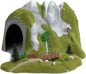 Busch 1471 Mine Entrance 2 Rail HO Scenery Scale Model Scenery