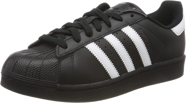 black adidas shoes superstar