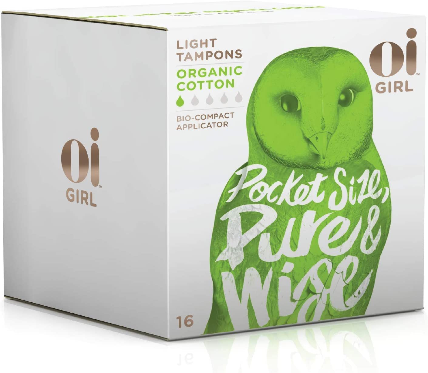 Oi Girl Organic Cotton Tampons
