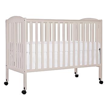 Dream On Me Folding Full Size Crib French White