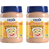 Veeba Cheese and Chilli Sandwich Spread, 275g (Pack of 2)