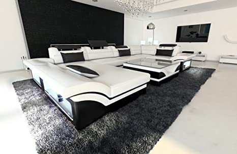 Sofa Dreams Cuero Conjunto de Muebles para Salón Enzo en ...