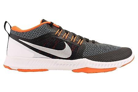 647e926030200 Men s Nike Zoom Domination Training Shoe Black Metallic Silver Cool  Grey White Size