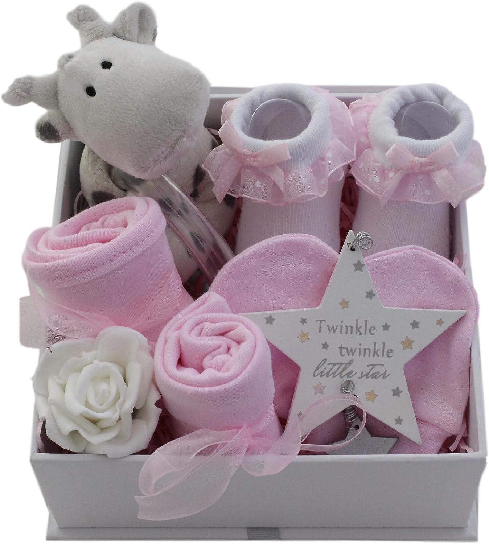 bib hat socks Baby clothes cupcake gift box girl//boy baby shower new baby